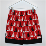 Boys Size 2 Moustache Christmas Shorts