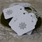18 Embossed Snowflake Gift Tags Princess Party Winter Wonderland Party Tags