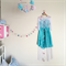 Felt Garland - Pink, Turquoise, Light Pink, White, Sand, Hot Pink etc
