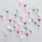 Felt Ball Garland in Bubblegum in Light Pink, Tiffany Blue, Sand, White, Pink