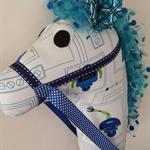 HOBBY HORSE - I Robot - blue robots