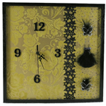 Modern Wall Clock, Wall Art, Birthday, Anniversary Gift, Home Decor Contemporary