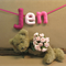 Personalized Name Banner, Custom Felt Name Bunting, Child's Baby Name Wall Art