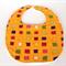 Bib - Baby - Squares - Yellow - Multi Colour Squares - Free shipping