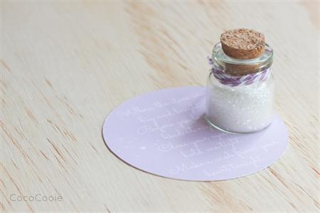 Wish Jar - small white