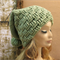 Crochet Hat, Women's Chunky Hat With Pom Pom, Men Slouchy Beanie, Winter Fall