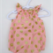 Pink with Gold Spots Baby Girl Playsuit - Romper, Newborn, Baby, Girl