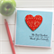 Teacher Personalised card The best teachers teach from the heart music thank you