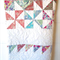 Couch/Sofa Quilt - Spring Wheel - Bedding - Payment Plan Available