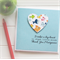 Teacher Personalised card It takes a big heart to shape little minds fish