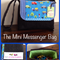 The Mini Messenger Bag - the perfect size for a special little person!