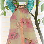 MaisyMoo Designs 'Pink Forest' Dress Sizes: 0-3mth - 4yr