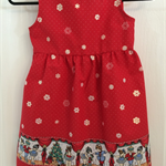 Red Nutcracker Christmas Dress in size 3