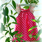 MaisyMoo Designs 'Spots Galore' Dress Sizes: 0-3mth - 4yr
