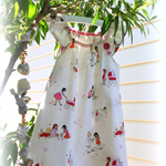 MaisyMoo Designs 'Children At Play' Dress Sizes: 0-3mth - 4yr