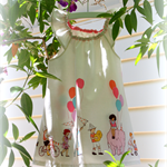 MaisyMoo Designs 'Balloon Parade' Dress Sizes: 18mth & 2yr