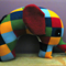 Multi-patched elephant