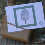 Bonjour Christmas Tree Card Pack ~ Gift Tags