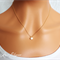 Silver gold or rose gold star necklace student graduation teacher gift