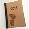 2015 Diary - Deer - Hand stamped - Customisable