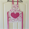 Kids/Toddlers Apron Hello Kitty pink - girls lined kitchen/craft/play/art apron
