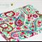 A5 Notebook - paisley floral Jennifer Paganelli