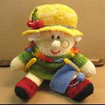 Grandma, Knitted Toy, Humpty Dumpty, Stuffed Animals, Knitted Amigurumi Soft Toy