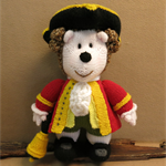 Hedgehog, Knitted Toys, Town Crier Hand Knitted Animals Stuffed Toy Nursery Gift