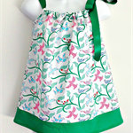 Green Dove Ribbon Dress Sizes 0