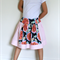'Midnight Blue/Pale Pink' Spinning Skirt - Sizes: 2, 3, 4, 5 & 6