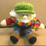 Grandpa, Knitted Toy, Humpty Dumpty, Stuffed Animals, Knitted Amigurumi Soft Toy