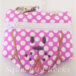 Puppy Coin Purse - Spotty