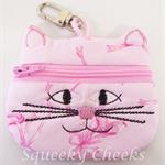 Kitty Coin Purse - Pink Ballet