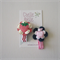 Pair of Strawberry and Apple Hair Clips - Baby, Toddler, Girl