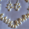 Wedding Necklace & matching Earrings - Freshwater Pearls & Swarovski Crystals