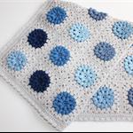 Baby Blanket | Crochet Blue Hues | Cot Pram Nursery Blanket | Made to Order