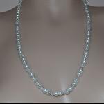 HANDMADE - Wedding Necklace - Glass Pearls & Swarovski Crystals
