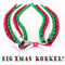 Big Christmas Korker Ribbon Hair Clip - Beautiful Kids Hair Accessories - Clips