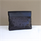 Reserved for Lana Sunhaze - Essie Clutch: Matt Black Sequins with Black Leather