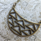 Geometric Pendant Necklace
