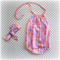 Summer Romper with snaps – Christmas Trees Pink