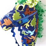 HOBBY HORSE - Dino - Dinosaurs on blue