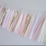 Pink Sands Tassel Garland