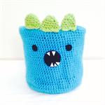 Amigurumi Crochet Monster Basket