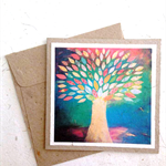 Spirit Tree Greeting Card with Envelope ~ Made with Elephant Dung Paper