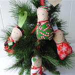 Babushka Christmas Decorations