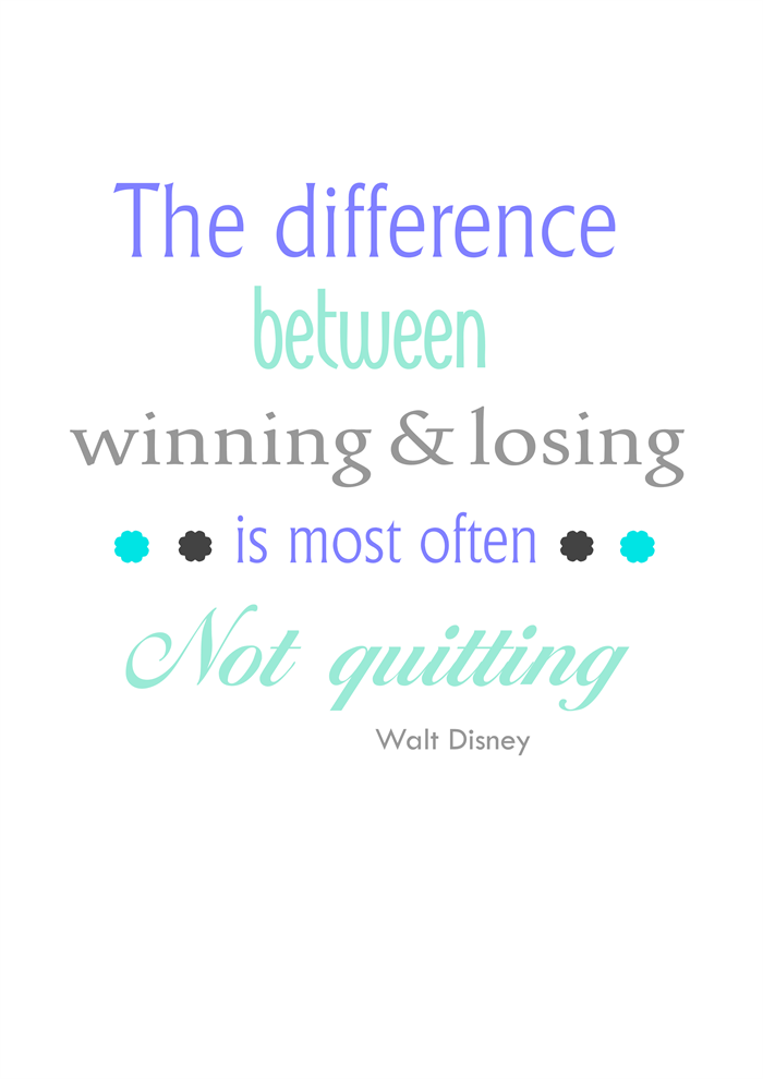 Disney quote print, kids room poster, inspirational saying ...
