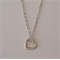 Petite Heart Necklace - Best Friend, Gift for her Necklace