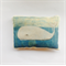 Mini Rice Bag with Whale Illustration / Art