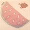 Watermelon Wheat Bag ORGANIC WHEAT - Illustrated by Rondelle Douglas